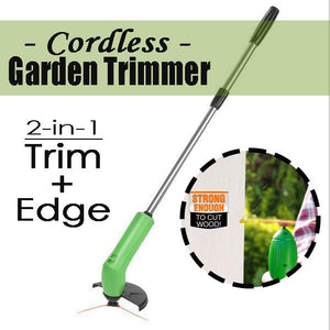 2-in-1 Cordless Garden Trimmer