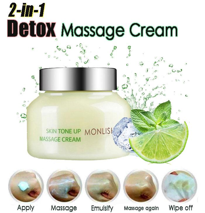 2-in-1 Detox Massage Cream