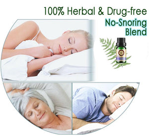 Anti-Snoring Herbal Oil Blend
