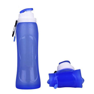 Collapsible Foldable Drinking Bottle