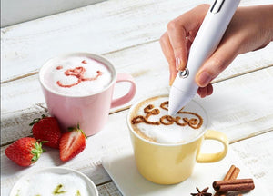 Electric Latte/Cake Art Pen