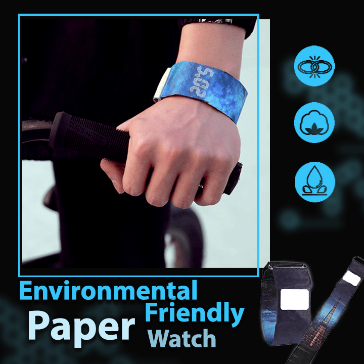 LED Environmental Friendly Paper Watch