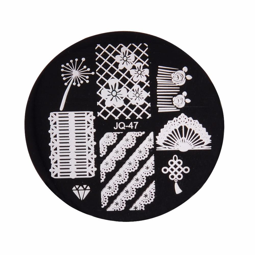 Magic Nail Art Stamper Kit  (10 Stamping Plates)