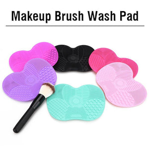 Silicone Brush Cleaning Pad
