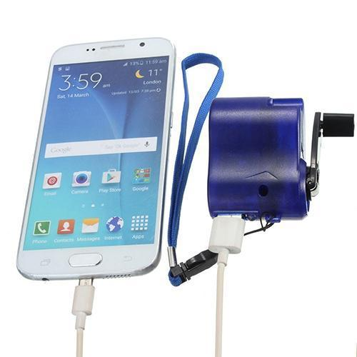 USB Dynamo Phone Charger