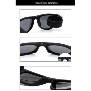 Slap-On Foldable Sunglasses