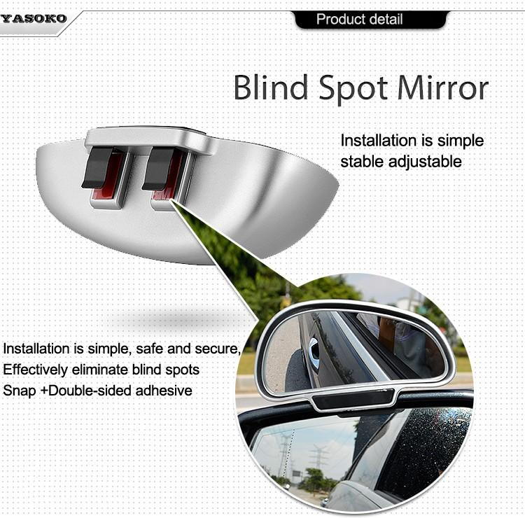 Adjustable Wide Angle Blind Spot Mirror