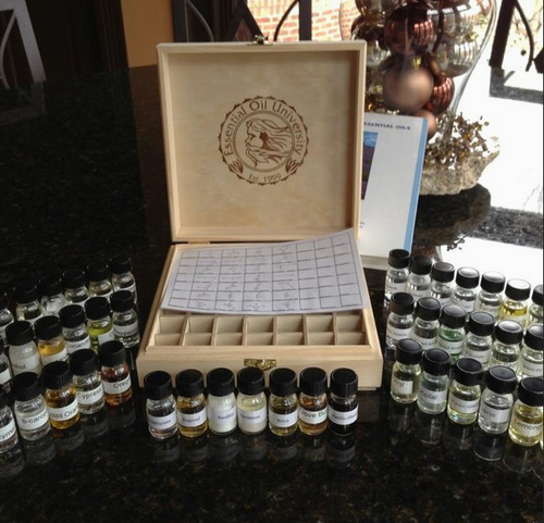 Chemistry of Essential Oils - Chemical Reference Kit Only
