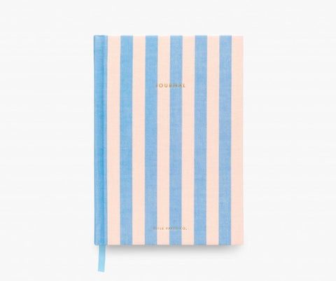 Cabana Stripe Fabric Journal