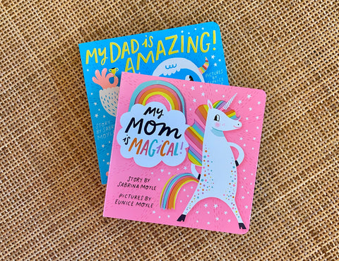 Magical Mom & Amazing Dad Book Set