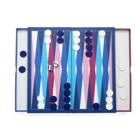 2-in-1 Jonathan Adler Backgammon + Checkers