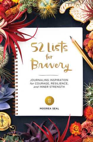 52 Lists for Bravery, A Prompted Journal