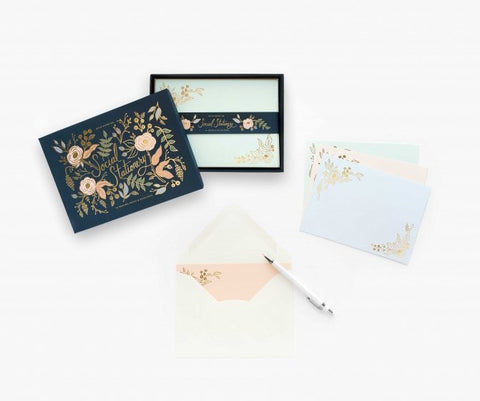 Colette Boxed Stationery Set
