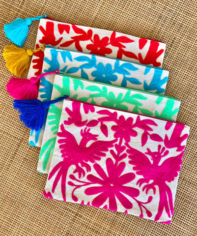 Otomi Zip clutch
