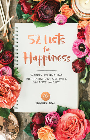 52 Lists for Happiness, Prompted Journal