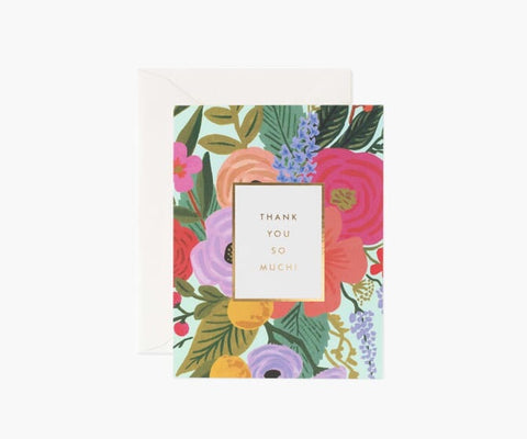 Garden Party Thank You, Boxed Set of 8