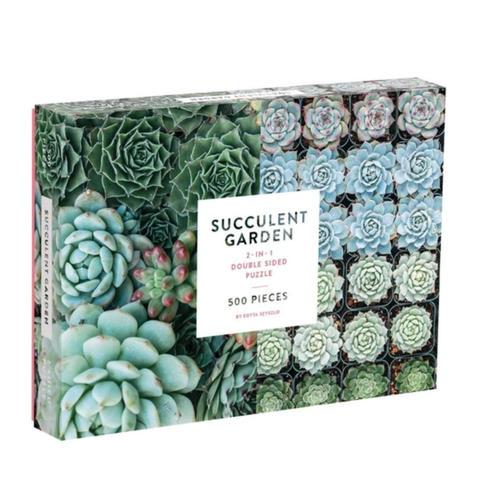 Succulent 500pc Double Sided Puzzle