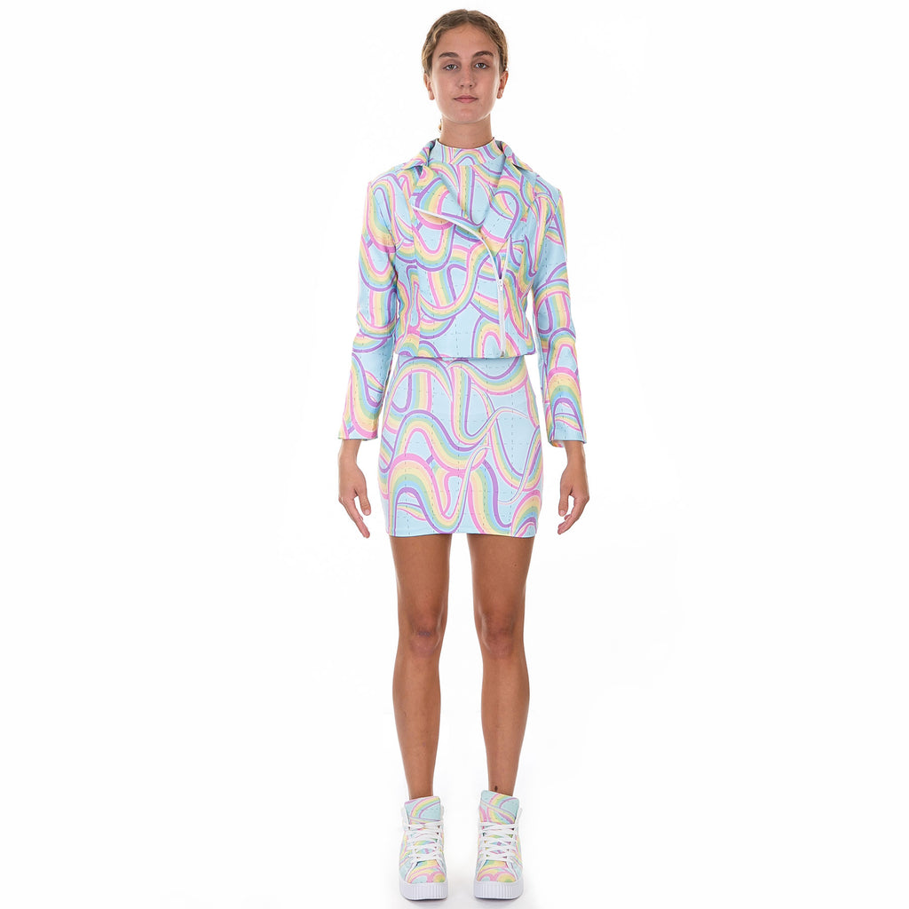 Bicycle Day Biker Jacket