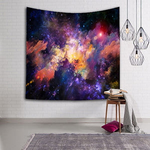 Stars Space Tapestry 3D