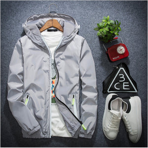 2018 Tide Brand Jacket Men Women - Hiphop WindBreaker