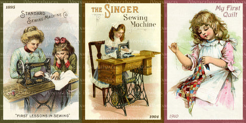 Sewing - Quilting 1880-1925