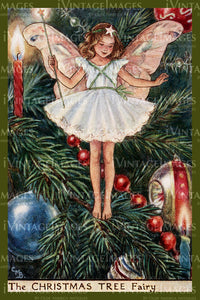 Cicely Barker 1923 - 9 - The Christmas Tree Fairy