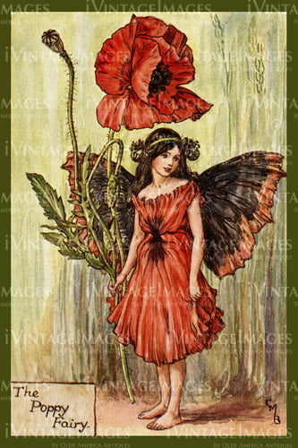 Cicely Barker 1923 - 13 - The Poppy Fairy