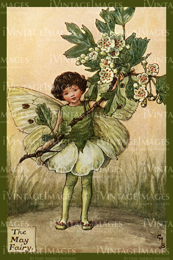 Cicely Barker 1923 - 32 - The May Fairy
