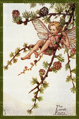 Cicely Barker 1923 - 50 - The Larch Fairy