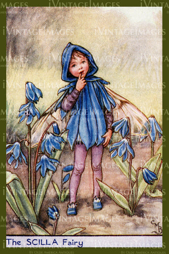 Cicely Barker 1923 - 55 - The Scilla Fairy