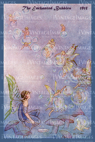 Hilda Miller Fairy 1915 - 1 - The Enchanted Bubbles