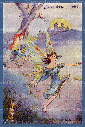Hilda Miller Fairy 1915 - 4 - Catch Me