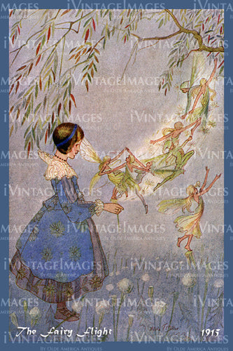 Hilda Miller Fairy 1915 - 8 - The Fairy Flight