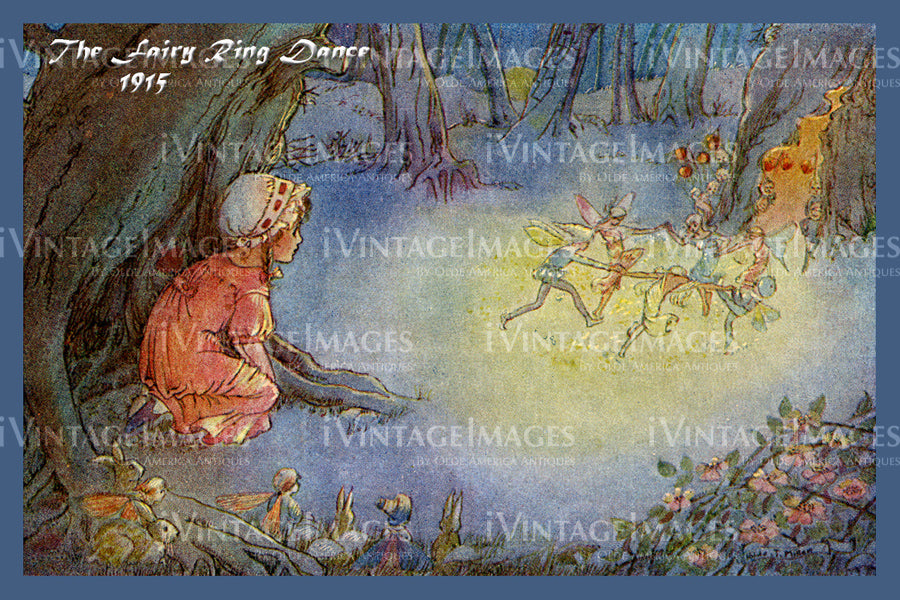 Hilda Miller Fairy 1915 - 10 - The Fairy Ring Dance