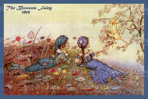 Hilda Miller Fairy 1915 - 11 - The Blossom Fairy