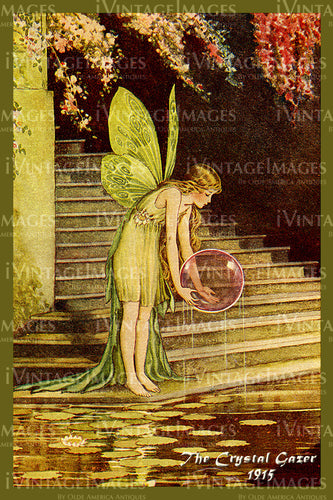 Outhwaite Fairy 1915 - 9 - The Crystal Gazer