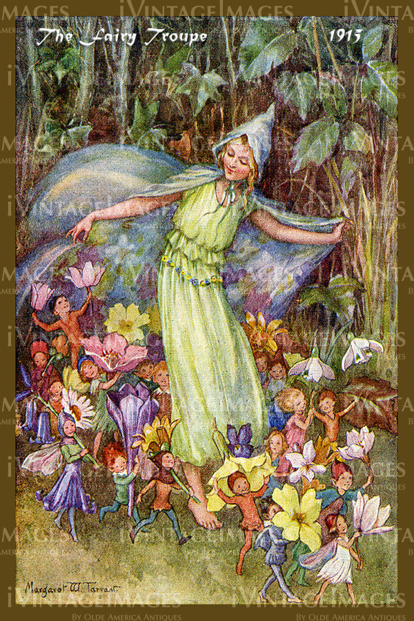 Margaret Tarrant Fairy - 5 - The Fairy Troupe