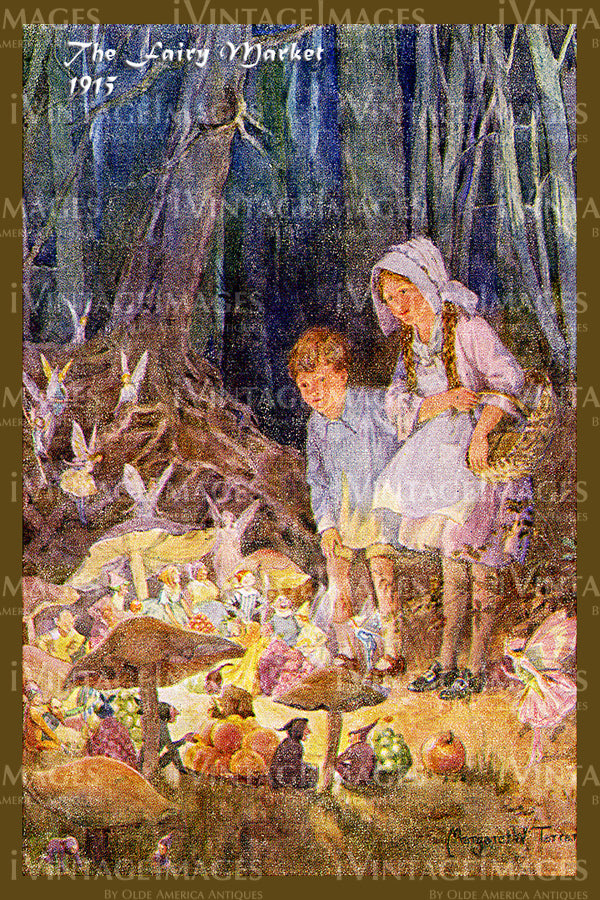 Margaret Tarrant Fairy - 6 - The Fairy Market