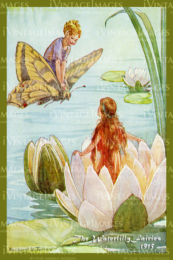 Margaret Tarrant Fairy - 9 - The Waterlilly Fairies