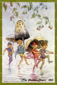 Margaret Tarrant Fairy - 12 - The Puddle Dance