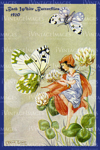 Rene Cloke Fairy - 4 - Bath White Butterflies
