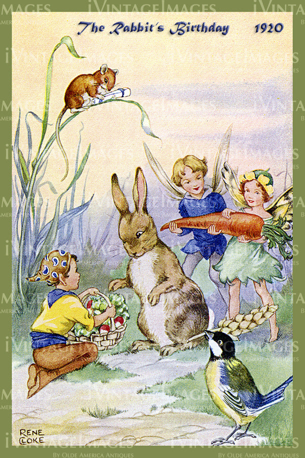 Rene Cloke Fairy - 19 - The Rabbits Birthday
