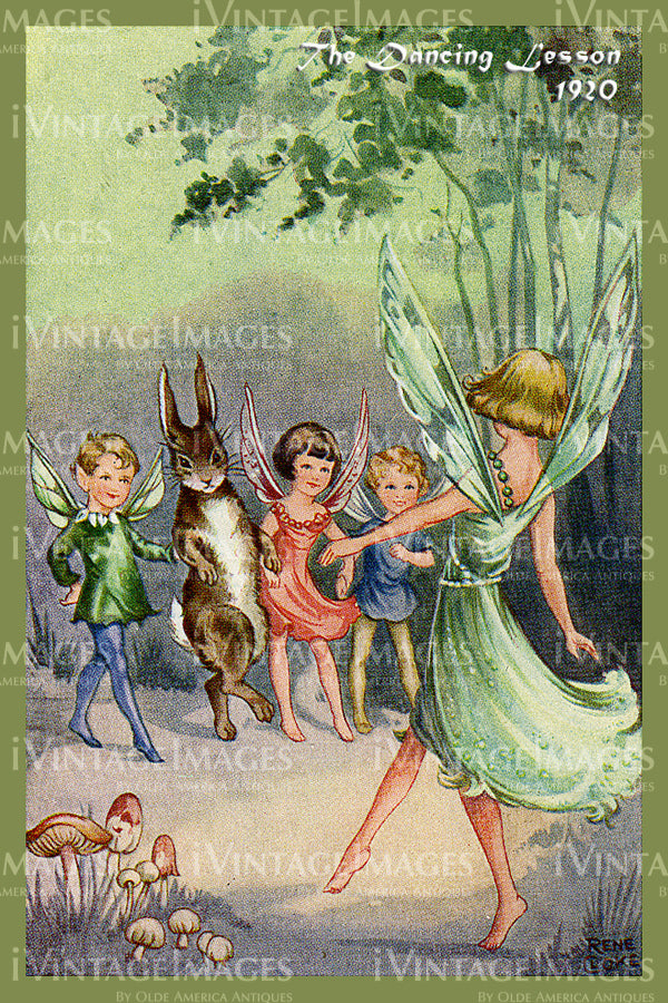 Rene Cloke Fairy - 20 - The Dancing Lesson
