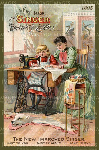 Sewing Trade Card 1895 - 4