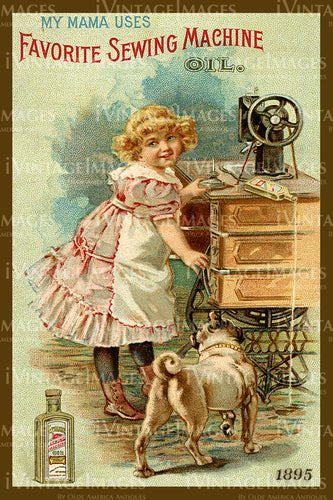 Sewing Trade Card 1885 - 15
