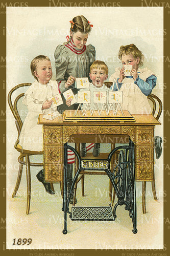 Sewing Trade Card 1899 - 17
