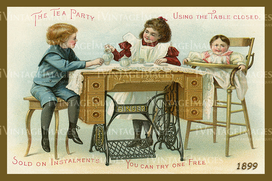 Sewing Trade Card 1899 - 18