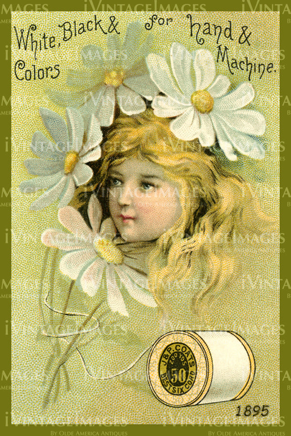 Sewing Trade Card 1895 - 26