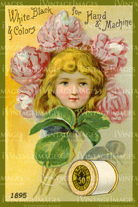 Sewing Trade Card 1895 - 27