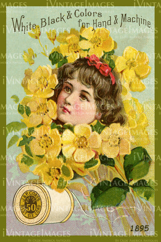 Sewing Trade Card 1895 - 28